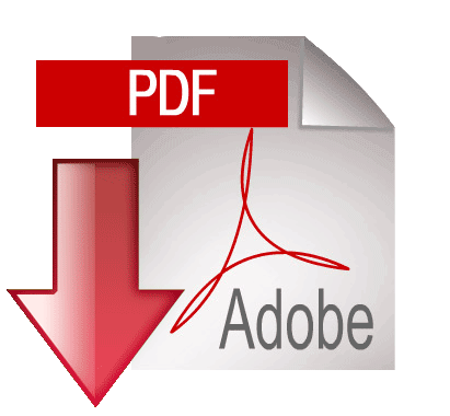 Adobe PDF Download Icon